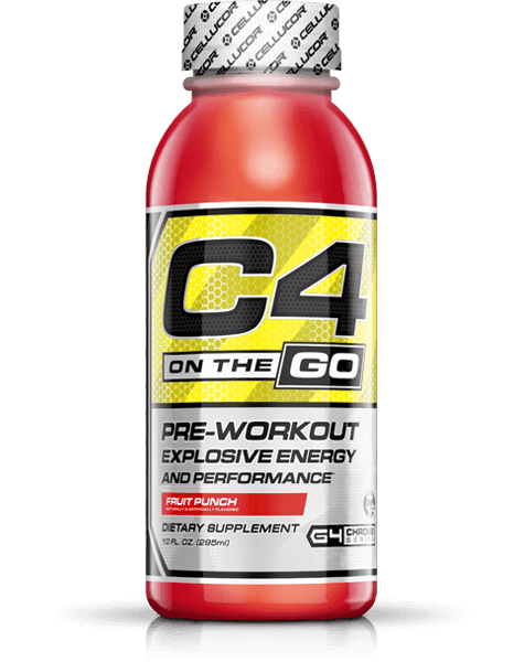 C4 On The Go Pre-Workout Explosive Energy and Performance