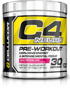 C4 Neuro Pre-Workout Explosive Energy and Intense Mental Focus Powder