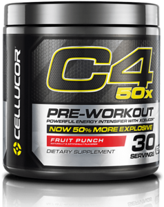 Cellucor C4 Pre-Workout Powder 50 Percent More Explosive