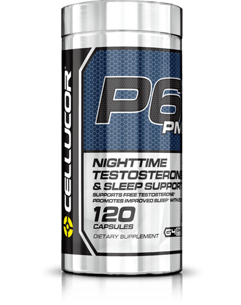 P6 PM Nighttime Testosterone and Sleep Support Capsules